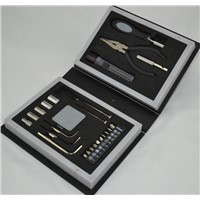 25 Piece Book Shaped Tool Set