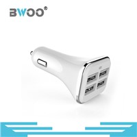 Universal 4 USB Ports Car Charger for Mobile Phone
