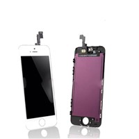 For iphone 5s lcd display iphone 5 touch screen lcd digitizer assembly with frame