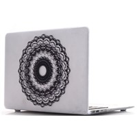 lace Silver Soft-Touch Plastic Hard Case Cover for Macbook New White Unibody, A1342