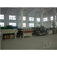PP Hollow Sheet Production Line / Corflute Plastic Sheet Extrusion Machine
