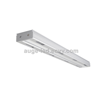 1.2m 80W 100W Linear High Bay Light, 4ft Linear Warehouse Lighting 0-10V Dimmable, Retangulare High Bay Fixture 120lm/W