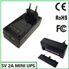 110V 220V ip camera use 5v battery backup 5v ups power supply mini ups 5v 2a
