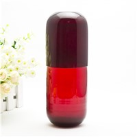High Quality Mouth Blown Colored Glass Water Carafe