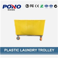 wholesale China professional plastic laundry trolley with super quality and competitive price