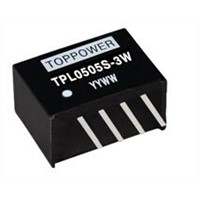 3W Isolated Single Output DC/DC Converters