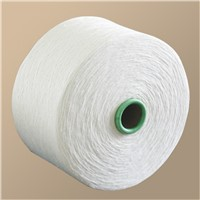 Single and Double High-Elastic Nature Dyed cotton yarn for fabric