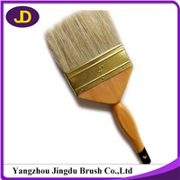 2016 High Quality Plastic Handle 100% Pure Hog Hair Brush