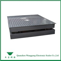 1t-10t Electronic Industrial Floor Scales for Warehouse