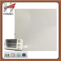 laminating metal plates for toaster oven
