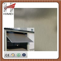 laminated stainless steel plates for garage door