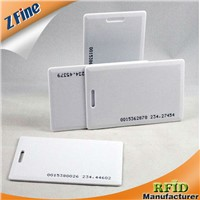High quality inlay blank ID card with hole