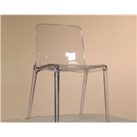 Plastic furniture Injection transparence chair mold company