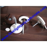 Polycarbonate Sheet Washer Polycarbonate Sheet Gasket Water Proof Screw Cap Screw Fixing Button