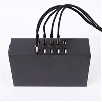10 Port 100W 2A*10 Output USB Desktop Charger for Tablet PC