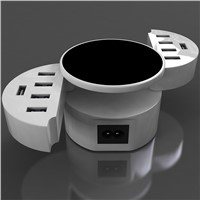 10 Ports 50W Portable Rapid USB Charger Travel  Wall Charger Adapter