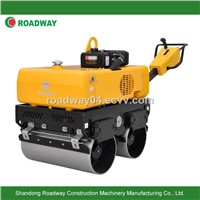 walk behind hydraulic double drum vibratory road roller RWYL33/ 33C/ 33S
