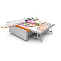 large scale printing machine uv flatbed printer