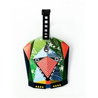 Fansy design personalized travel custom silicone luggage tag
