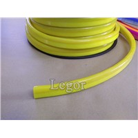 Yellow led neon ribbon