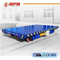 Storage Battery Power Warehouse Transfer Motorized Rail Cart