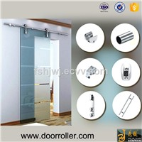 stainless steel barn sliding door rollers hardware