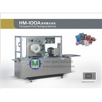 HM100A film over wrapping packing machine equipment