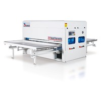 Automatic Vacuum Press Machine for PVC, Heat Transfer, Leather, Veneer