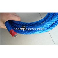 16mm PP Blue Combination Rope