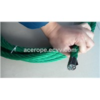 16mm PP Green Combination Rope