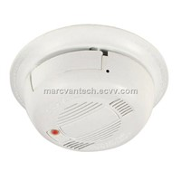 Real smoke detector HD 1080P MTV-3.7mm pinhole lens covert hidden spy camera with audio and OSD menu