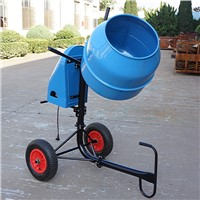 Australia Type mobile Cement mixer mini Concrete mixer 140L for sale