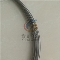 high temperature magnetostrictive waveguide wire with good signal