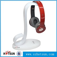 wholesale acrylic headphone display stand, headset display stand