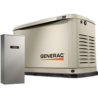 Air-Cooled Standby Generator 16 kW (LP)/16 kW (NG), 200 Amp Transfer Switch