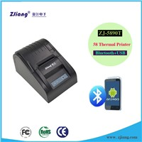 ESC / POS Print Command USB Bluetooth Thermal Printer With Low Cost Pos Ticket Voucher Printer