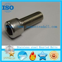 Round head bolts, Steel knurled bolts,Stainless steel round head socket bolts