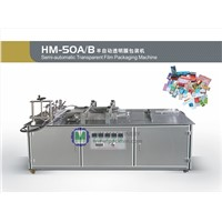 HM-50A/B Semi-automatic Transparent Film Packaging Machine