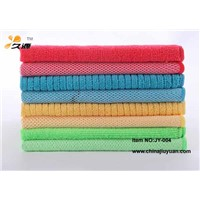 Manufacturer Of Microfiber cleaning terry towel/cloth With Mesh