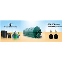 Convert plastic waste to fuel oil machine