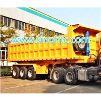 3 axle dumping trailer/ Tipping trailer/ Trucks and Trailers / Self Dump Trailer