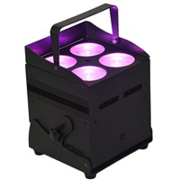 4X8W 4IN1 Battery Wireless Uplight Battery Wireless DMX LED Stage Light
