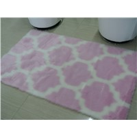 Faux Fur Rug with Patterns
