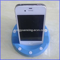 Plastic roundness apple iphone Portable Stander table Stander for iPhone for Apple iPad decoration