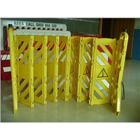 Flexible PVC safety isolation barrier