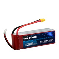 RC LIPO BATTERY 4200MAH 35C 6S
