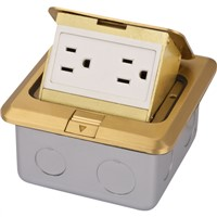 floor socket box plug