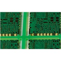 4 layer immersion gold half hole PCB