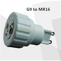 G9 to MR16 lamp LED lamp adapter
