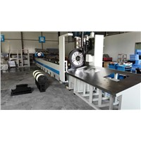 automatic feeding square steel tube cnc laser cutting machine